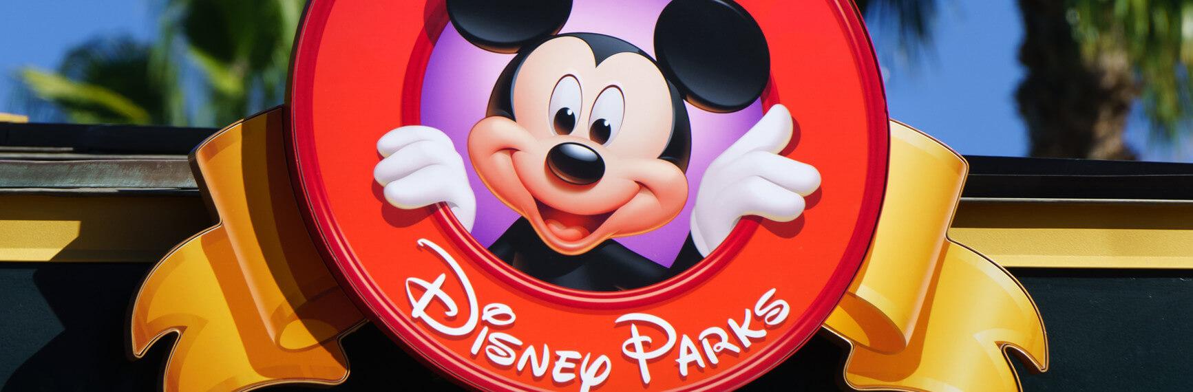 Disney Parks sign