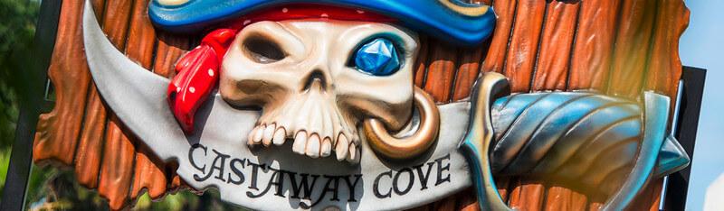 Castaway Cove sign