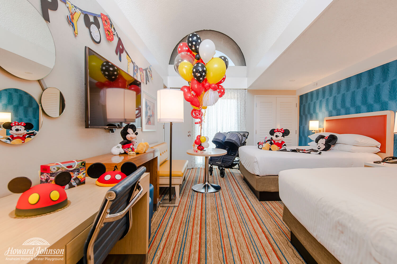 Have a ball with HoJo's magical in-room celebrations